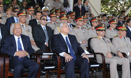 Adly, El-Sisi and Beblawi