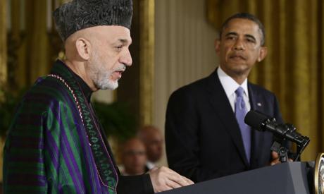 Obama, Karzai
