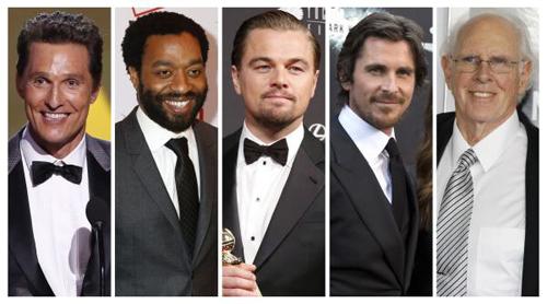 Best Actor Nominees. (Photo: Reuters)