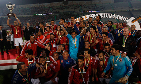 Ahly were given their sixth African Super Cup title