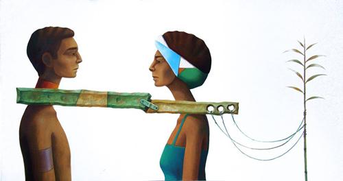 Artwork by Hady Boraey. (Photo: courtesy of ArtTalks)