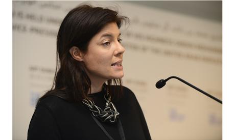 Antonia Carver, Art Dubai Fair Director, 2013. (Photo: courtesy of Art Dubai and Siddharth Siva)