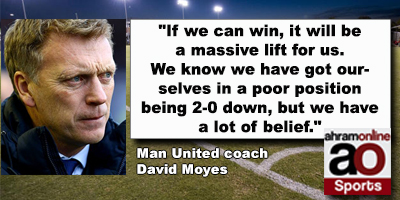 Man United coach  David Moyes