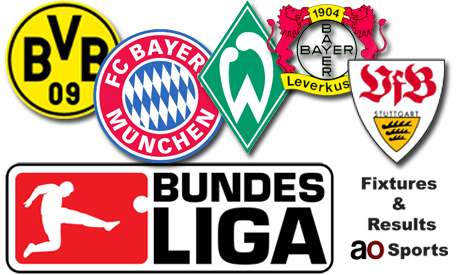 german league fixtures