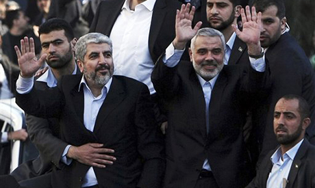 Hamas chief Khaled Mashaal and Gaza