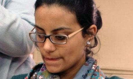 Human Rights lawyer and Revolutionary socialists Activist Mahinour El-Masry