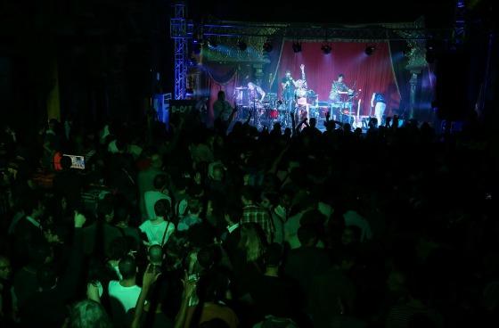 Skip & Die open D-CAF in Sherhrazade (Photo: Mostafa Abdel Aty)