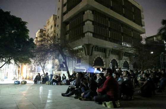 Francophone Short Films night at Greek Campus (Photo: Mostafa Abdel Aty)