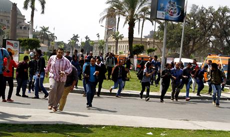 Cairo University Explosion