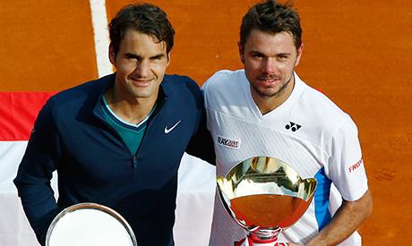 Wawrinka and Federer
