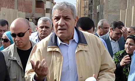 Egyptian Premier Ibrahim Mahleb