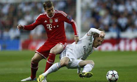 Real Madrid vs Bayern Munich (UEFA Champions League Semi-finals): LIVE
