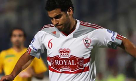 Zamalek;s defender Hany Saied