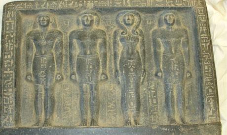 a set of women statues