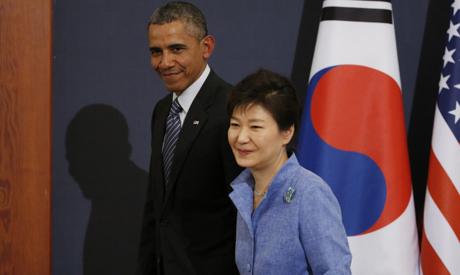 Barack Obama, Park Geun-hye