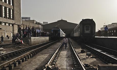 the main train station