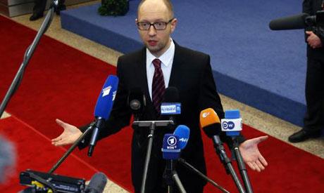 Prime Minister Arseniy Yatsenyuk