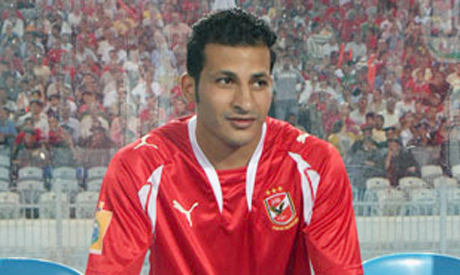 Ahly left winger Sayed Moawad
