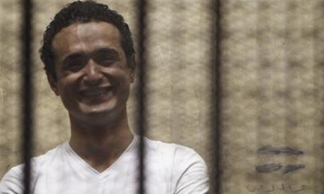 Egyptian activist Ahmed Douma