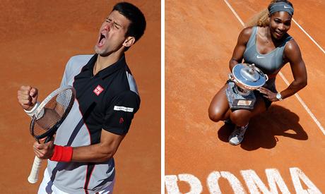 Djokovic, Serena Williams