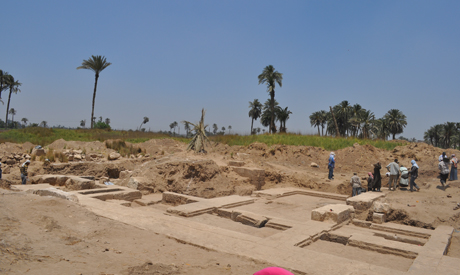 the temple site