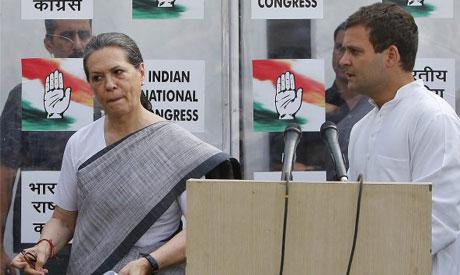 Sonia, Rahul