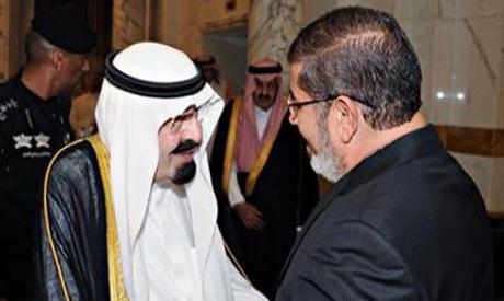 Morsi, King Abdullah