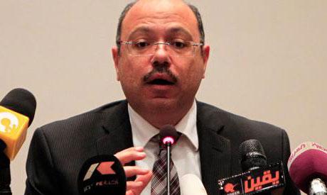 Finance Minister Hany Kadry Demian