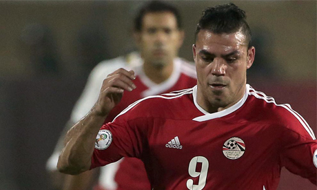 Egyptian player Amr Zaki