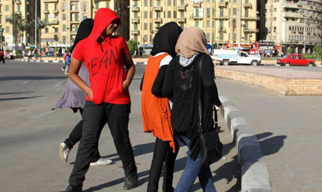 Sexual harassment in egypt