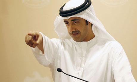 Sheikh Abdullah bin Zayed Al-Nahayan