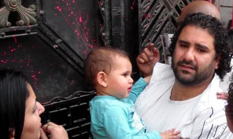 Prominent activist Alaa Abd El Fattah