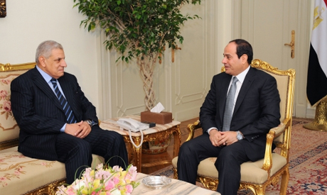 El-Sisi with Mahlab