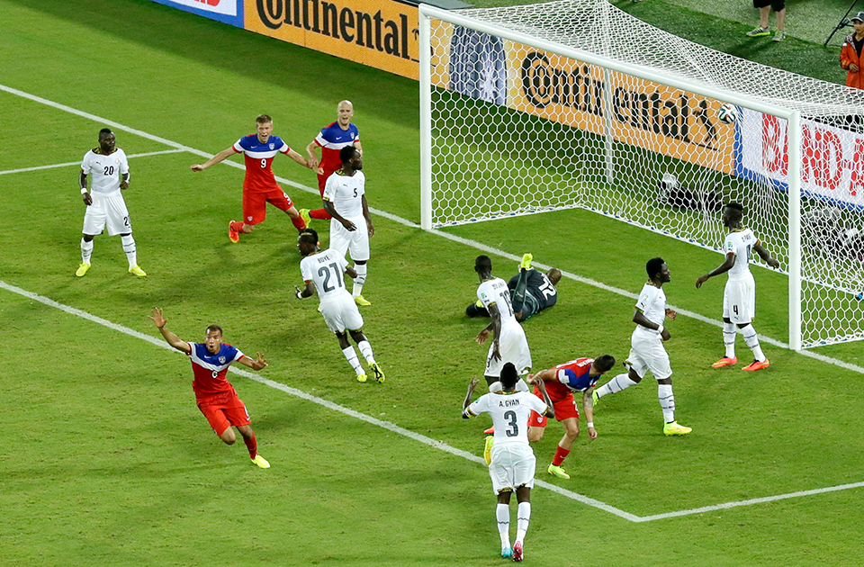 PHOTO GALLERY: Ghana lose to USA in World Cup - Multimedia - Ahram
