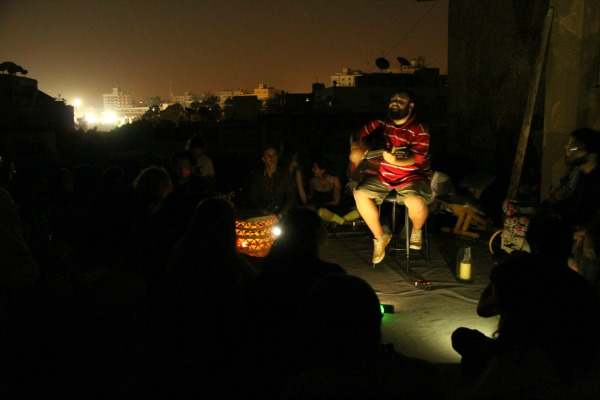Safi on the roof in Sofar