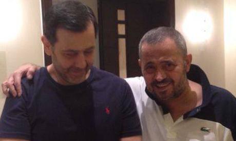 Maher al-Assad and George Wassouf