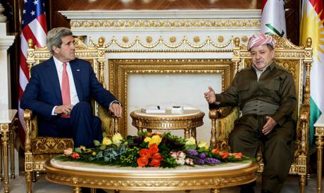 Kerry , Barzani