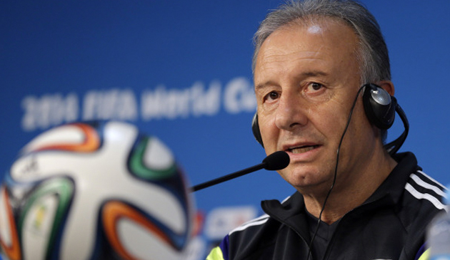 Japan soccer team coach Alberto Zaccheroni