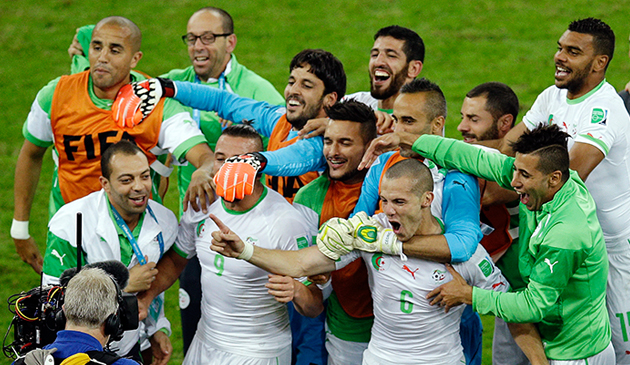Algeria players