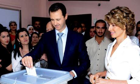 Bashar Assad, Asma Assad