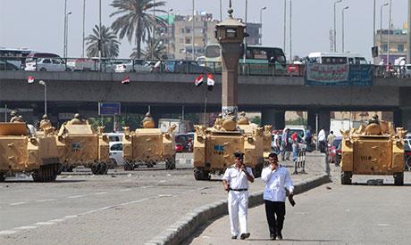 Tahrir Square closed