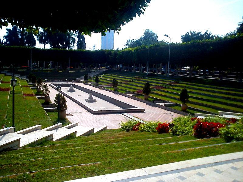 Al-Andalus garden, photo by Farah El-Akkad