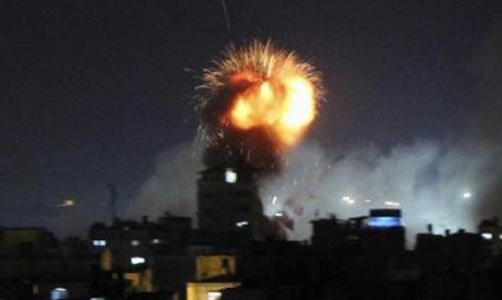 Gaza raids