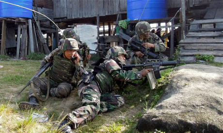 Malaysian soldiers