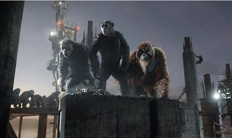 Cinema still: Dawn Of The Planet Of The Apes