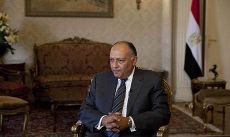 Egyptian Foreign Minister Sameh Shukri