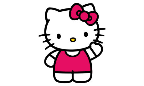 12ee708d0 Hello Kitty designer defends cute character as cat turns 40 - Visual ...