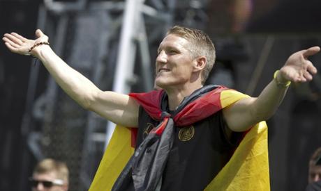 German soccer player Bastian Schweinsteiger