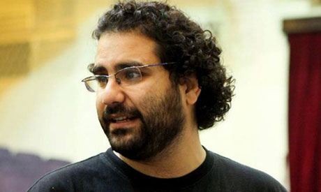 Egyptian activist Alaa Abd El Fattah