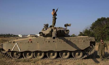 An Israeli soldier